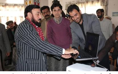 مناپن نگر، نگران وزیر اطلاعات عنایت اللہ شمالی نے بروشسکی زبان میں بننے والی ڈرامہ سیریل کا افتتاح کیا