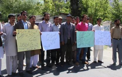 وزیر اعظم کا دورہ گلگت، نظر انداز کیے جانے پر مقامی صحافی سراپا احتجاج