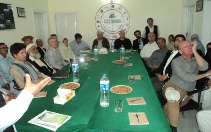 آغا خان فاونڈیشن کینیڈا کے سربراہ اور اُن کی ٹیم نے چترال کا دورہ کیا