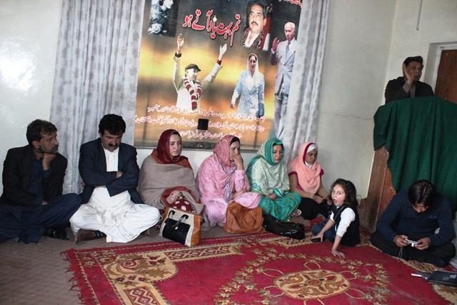 ذولفقار علی بھٹو کی برسی کے موقعے پر گلگت میں تقریب، پارٹی رہنما شریک ہوے