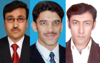 قراقرم یونیورسٹی کے تین اساتذہ کا اعزاز، پاکستان کونسل برائے سائنس اینڈ ٹیکنالوجی نے تحقیق کے میدان میں ایوارڈز سے نوازا