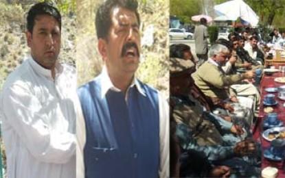 پاکستان مسلم لیگ ن کے نائب صدر عباس طائی کے اعزاز میں تقریب کا انعقاد