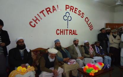 چترال کے عوام دینی سیاسی جماعتوں کی اتحاد کے منتظر تھے۔جے یو آئی ،جماعت اسلامی مشترکہ پریس کانفرنس