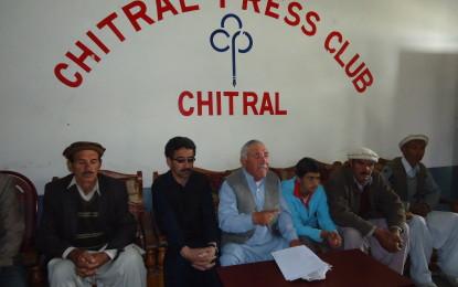 شغور پُل ، حسن آباد پُل اور کریم آباد روڈ کی جلد از جلد تعمیر کی جائے۔عمائدین کریم آباد کا پریس کانفرنس