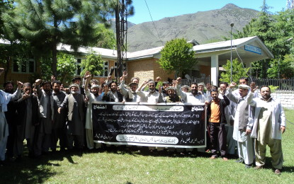 پیرامیڈیکل ایسو سی ایشن چترال کا غیر معینہ مدت تک ڈیوٹی چھوڑ ہڑتال