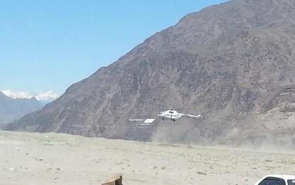دیامر کوہستان حدود تنازعہ کمیشن کے چئیرمین نے چلاس کا ایک روزہ دورہ کیا