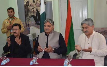 اسماعیلی کمیونٹی پر حملہ دراصل پاکستان پر حملہ ہے، گورنر گلگت  بلتستان چوہدری برجیس طاہر