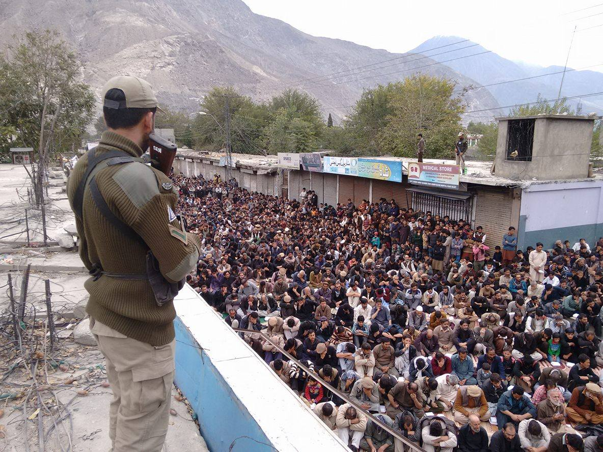 گلگت بلتستان میں عاشورہ کے جلوس پر امن طریقے سے اختتام پذیر ہو گئے