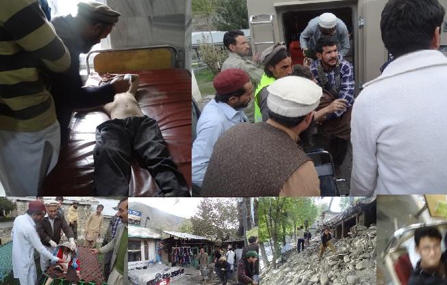 چترال میں زلزلہ سے ہلاک شدہ گان کی تعداد 23 ہوگئی، سینکڑوں زخمی، مواصلات کا نظام درہم برہم