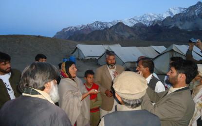 چترال متاثرین سیلاب کے ساتھ ہیں،تنہانہیں چھوڑیں گے،علیمہ خان