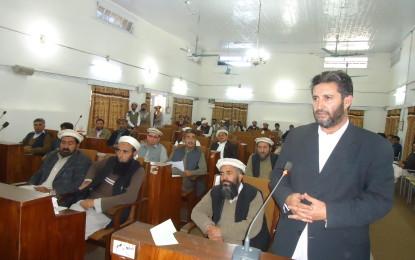 ضلع کونسل چترال کے اجلاس میں 13کروڑ 8لاکھ 40ہزار روپے کا غیر ترقیاتی بجٹ منظور،اپوزیشن کا واک اوٹ