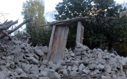 ضلع غذر میں متاثرین کی بحالی کا کام تیزی سے جاری ہے، فداخان فدا