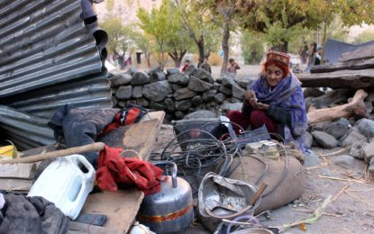 زلزلہ ۔۔۔۔۔۔۔ زندگی چھین نہ سکا