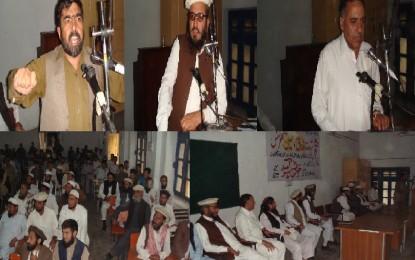 تنظیم اہلسنت والجماعت کے زیر اہتمام شہادت فاروق اعظم و حسینؓ کانفرنس کا انعقاد