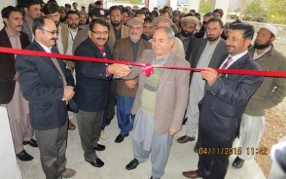 چلاس، اے جی پی آر کے نئے دفتر کا افتتاح ہو گیا