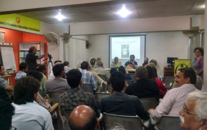 شمالی پاکستان ۔ تاریخ وثقافت نامی کتاب کی تقریبِ رونمائی کراچی میں ہوئی