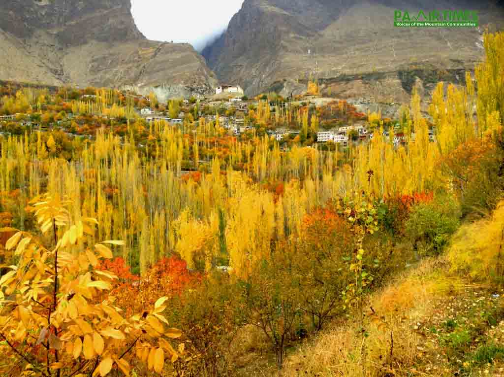 وادی ہنزہ میں خزاں کے دلکش مناظر
