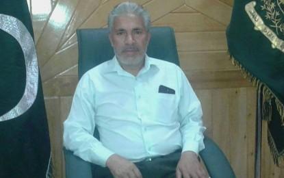 ودہولڈنگ ٹیکس کا چند روز میں خاتمہ متوقع ہے۔ صوبائی وزیر تعلیم حاجی محمد ابراہیم ثنائی