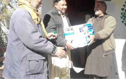 وعدہ پورا ہوگیا، ممبر قانون ساز اسمبلی عمران ندیم نے پرنٹر پرائمری سکول مرکجنہ شگر کے حوالے کردیا