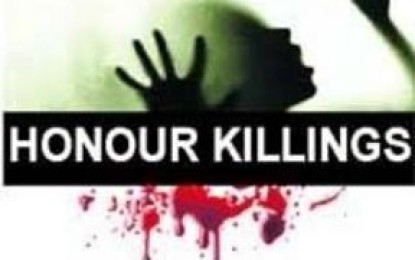 چلاس، غیرت کے نام پر لڑکا اور لڑکی قتل، قاتل فرار ہوگیا