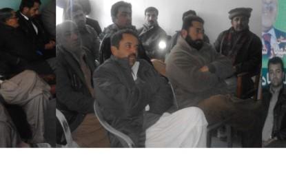 مسلم لیگ ن کے عہدیدار امین شیر نے الیکشن میں حصہ لینے کا اعلان