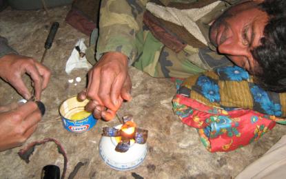وادی بروغل میں  سالانہ دو کروڑ اٹایس لاکھ روپے کے افیون کا استعمال، علاقہ سرکاری اور غیر سرکاری اداروں کے نظروں سے اوجھل