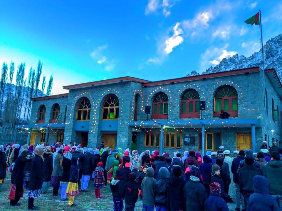 گلگت بلتستان میں اسماعیلی برادری نےپرنس کریم آغاخان کی 79ویں سالگرہ نہایت عقیدت اور احترام سے منایا