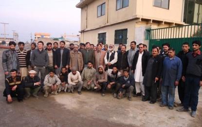 چترالی صحافیوں نے ٹیکسلا میں قائم ہائیڈرو لنک پرائیوٹ لمیٹڈ کمپنی کا دورہ کیا