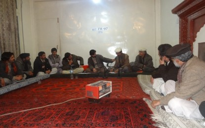 چترال میں کیڈ نامی ادارے کے تعاون سے ایف ایم نائینٹی سیون پر محفل مشاعرہ کا اہتمام
