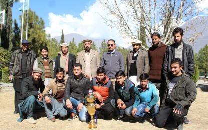 ٹورنامنٹ میں نیٹکو فٹبال ٹیم کی کامیابی نیک شگون ہے، ایم ڈی محمد سعید اللہ خان  یوسفزئی