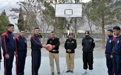 پولیس ٹریننگ کالج گلگت میں کھیلوں کی سرگرمیوں کا آغاز، کانڈینٹ نے باقاعدہ افتتاح کر لیا