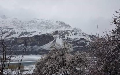 خپلو اور گردونواح میں برفباری کے بعد سردی کی شدت میں اضافہ ہوگیا
