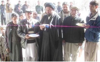 اسلامیہ پبلک سکول چھوکاہ شگر کے نئے کیمپس کا افتتاح