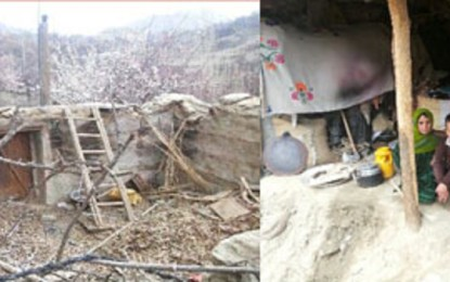 زلزلے سے متاثرہ نگر خاص کا رہائشی مہینے گزرنے کے بعد بھی حکومتی امداد کا منتظر ہے