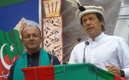 پاکستان تحریک انصاف کے نامزد امیدوارعزیز احمد نے سوست میں انتخابی مہم کاآغاز کردیا