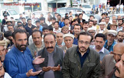 مسلم لیگ ن کے نامزد امیدوار شاہ سلیم خان نے علی آباد ہنزہ میں کیمپین آفس کا افتتاح کر دیا