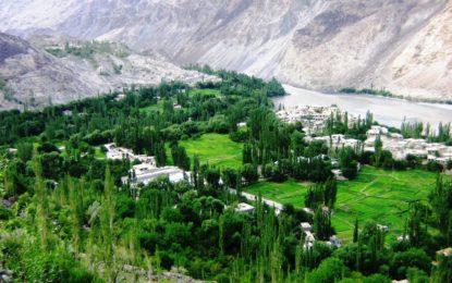 مہدی آباد میں دریائے سندھ نے زمین کی کٹائی شروع کردی، کسان پریشان