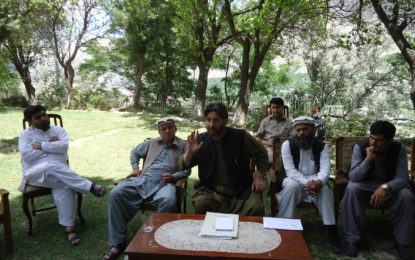 انتظامیہ اورایم پی ایز ضلعی حکومت کوبدنام کرنے کی کوشش کررہے ہیں، ضلعی ناظم چترال حاجی مغفرت شاہ