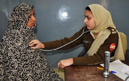 پاک فوج کے زیرِ اہتمام پھنڈر کے دور افتادہ مقام ٹیرو میں دو روزہ مفت طبی کیمپ کا انعقاد