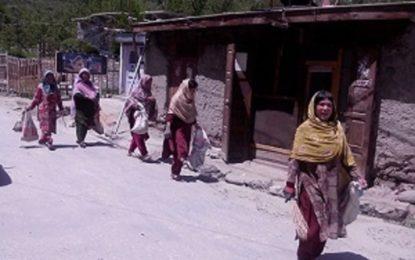 کریم آباد ہنزہ کے محلوں اور بازاروں کی صفائی کے لئے رضاکار اُٹھ کھڑے ہوے