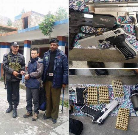 چینی باشندے کو اسلحہ سمیت سرحد تک پہنچنے سے روکنے میں ناکامی پر کاروائی، آئی جی نے سیکیورٹی فورس کے اہلکاروں کو معطل کر دیا