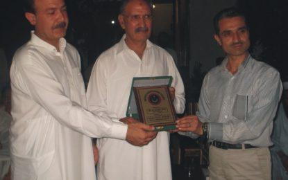 کوہستان کے سبکدوش ہونے والے ڈی پی او علی رحمت کے اعزاز میں افطار پارٹی کا اہتمام
