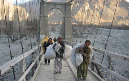 ڈپٹی کمشنر غذر نے اشکومن میں واقع دائین پل کو بچانے کی یقین دہانی کی