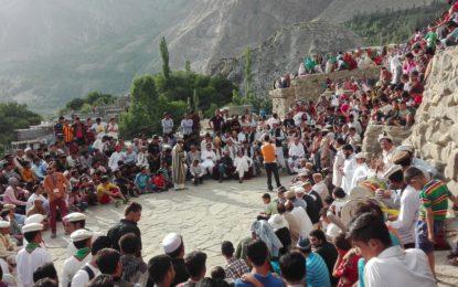 ہنزہ میں روایتی تہوار گنانی جوش و خروش کے ساتھ منایا گیا