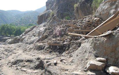 چترال کے سیلاب زدہ گاوں اُرسون میں 13افراد سپرد خاک، باقیوں کی تلاش جاری