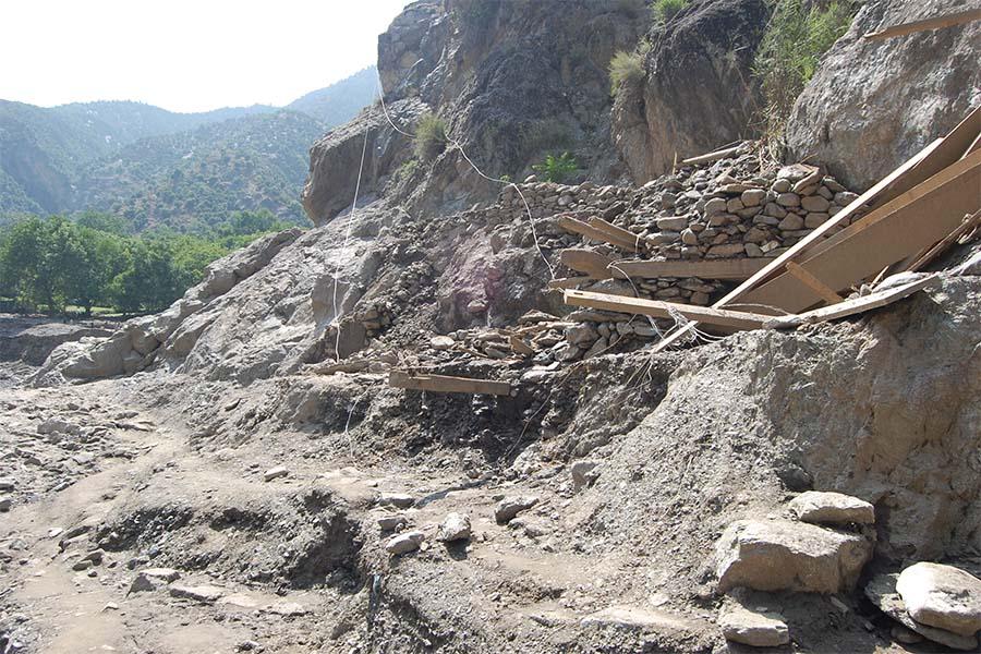 اُرسون سیلاب میں جان بحق ہونے والی مزید دو لاشیں افغانستان کے علاقہ ناڑے میں دریا سے برآمد