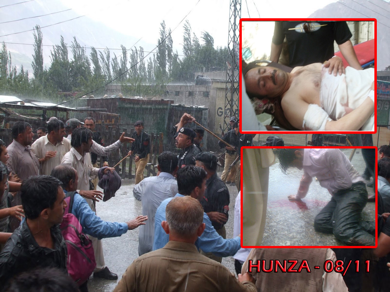 سانحہ علی آباد میں عدالت سے سزا پانے والے پانچ افراد نے ازخود گرفتاری دے دی