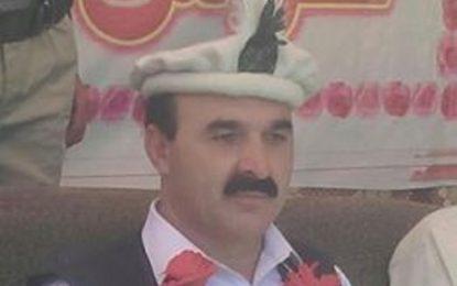 نو منتخب وزیر فدا خان فدا کا غذر آمد پر شاندار استقبال