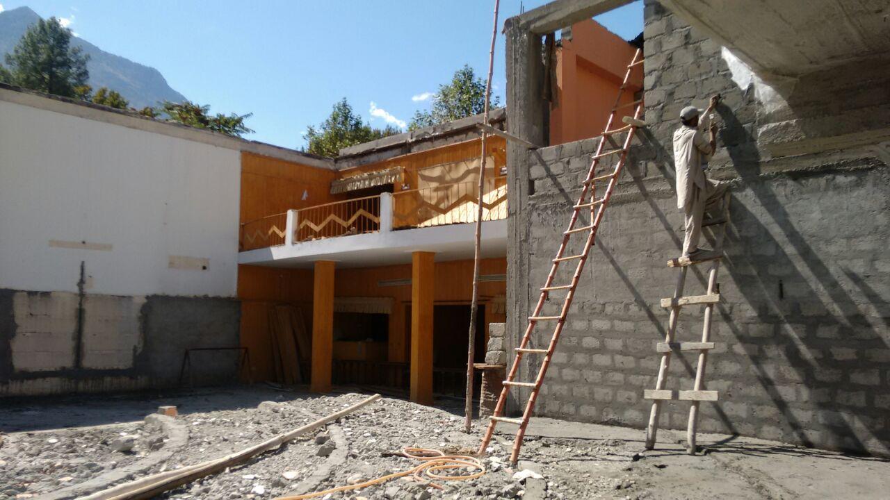گلگت بلتستان قانون ساز اسمبلی کی تعمیر نو کا کام جاری، تکمیل میں دو مہینے لگیں گے