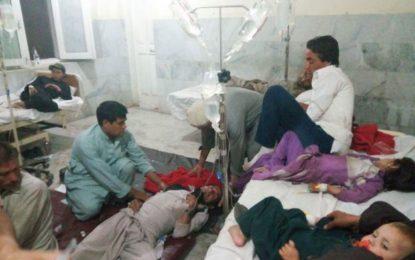چترال کے علاقے دروش میں شادی کی تقریب کے دوران زہریلی خوراک کھانے سے دو سو کے لگ بھگ افراد متاثر، ہسپتال منتقلچترا